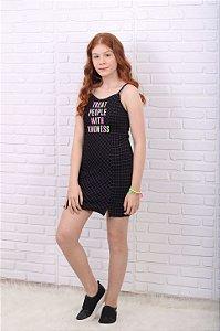 Vestido teen Vanilla Cream verão xadrez preto neon tumblr