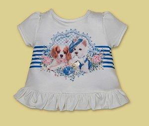 Conjunto de bebê Petit Cherie com blusa cachorrinho e legging xadrez com brilho