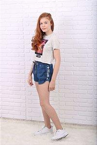Short Vanilla Crem teen moletom jeans tumblr