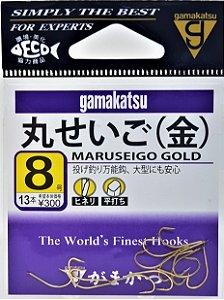 Anzol Gamakatsu Maruseigo Gold
