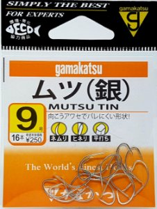 Anzol Gamakatsu Mutsu Tin