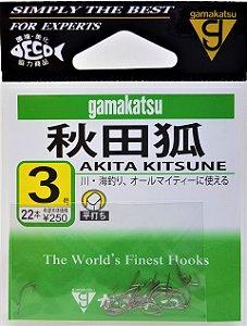 Anzol Gamakatsu Akita Kitsune