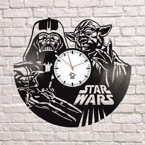 Relógio Vinil Star Wars Mestre Yoda