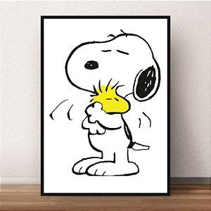 Quadro Snoopy