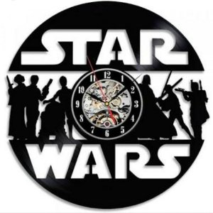 Relógio Vinil Star Wars