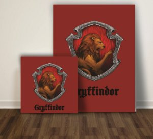 Quadro Harry Potter Gryffindor