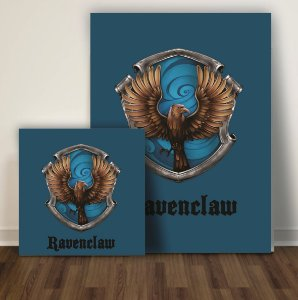 Quadro Harry Potter Ravenclaw