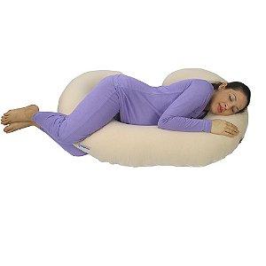 Travesseiro para Gestante Bege BabyKinha