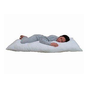 Travesseiro Gigante de Corpo Inteiro Branco