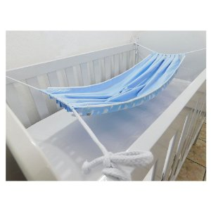 Rede para Berço Nuvens Azul BabyKinha