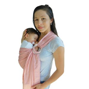 Baby Sling Canguru Rosa Argola Alumínio