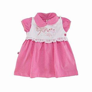 Saída Maternidade Rosa Goiaba Sonho Nenê
