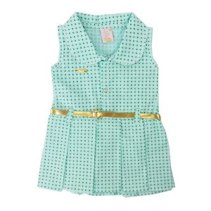Vestido para Bebê Edilma Algas