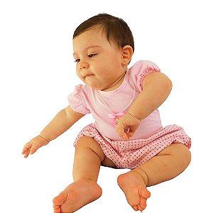 Conjunto 2 Peças para Bebê Wandelma Rosa