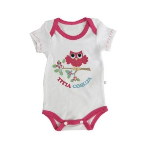 Body Titia Coruja Java Baby