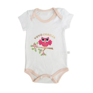 Body Vovó Coruja Java Baby