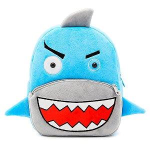 Mochila Animado Tubarão Azul
