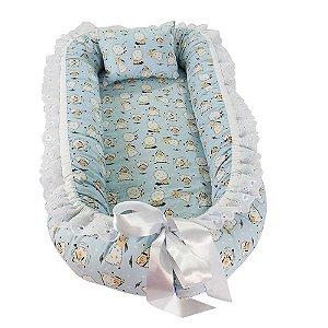 Ninho Para Bebê Dupla Face Carneirinhos