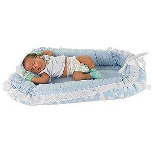 Ninho Para Bebê Nuvem Azul BabyKinha