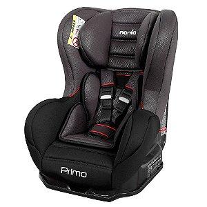 Cadeira para Auto Nania Primo Luxe Noir Cinza 0 a 25kg Team Tex