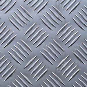 Chapa xadrez 3000 x 1000 x 1,5 - Peso teórico 15,30