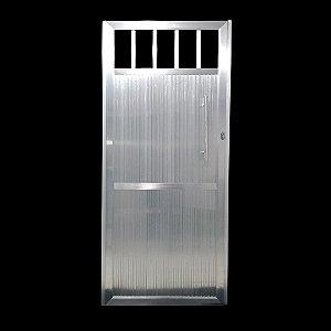 Portão Standard Brilho 180x80 Abertura Direita Com Puxador