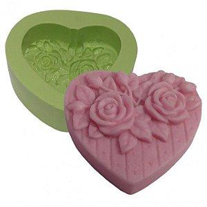 Molde de silicone Coração