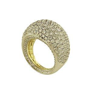 Anel em Ouro com Diamantes (6,45ct)