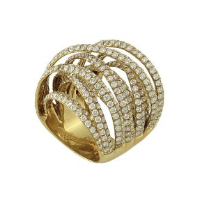 Anel em Ouro com Diamantes (5,85ct)