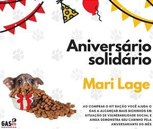 Kit Ração - Aniversário Solidário Mari Lage