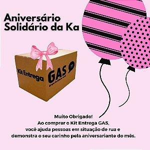 Kit Entrega Individual GAS - Aniversário Solidário da Ká