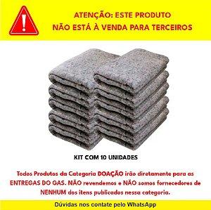 """DOAÇÃO de 10 Cobertores para """"ENTREGAS DO GAS"""" - NÃO REVENDEMOS"""