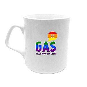 Caneca Porcelana GAS Arco-íris