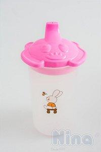 Copo Infantil Rosa 250ml