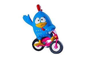 Brinquedo de Latex da Galinha Pintadinha Latoy - Bike