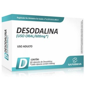 Desodalina 600mg Power Supplements - 60 caps