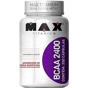 BCAA 2400 Max Titanium - 200 caps