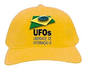 BONÉ UFOs LIBERDADE DE INFORMAÇÃO JÁ