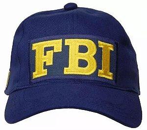 BONÉ FBI AZUL