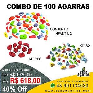 COMBO DE 100 AGARRAS