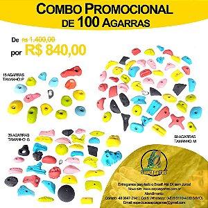 COMBO PROMOCIONAL DE 100 AGARRAS