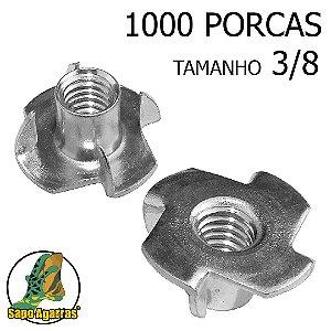 1000 PORCA AGARRA 3\8