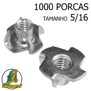 1000 PORCA AGARRA 5\16