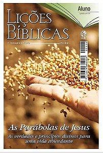 REVISTA LIÇÕES BÍBLICAS ALUNO 4º TR. 2018