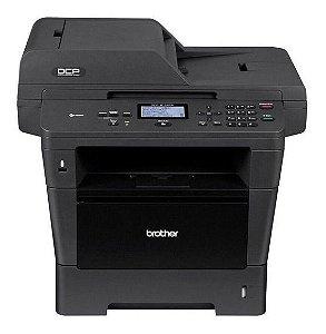 Impressora Multifuncional Brother DCP - 8152 DN (seminova)