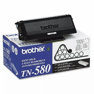 Cartucho De Toner Brother TN 580 Original (ntk 242)