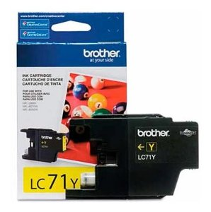 Cartucho de Tinta BROTHER LC71Y PRETO