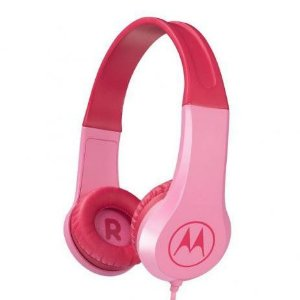 Headphone Motorola Squads 200 Kids Rosa