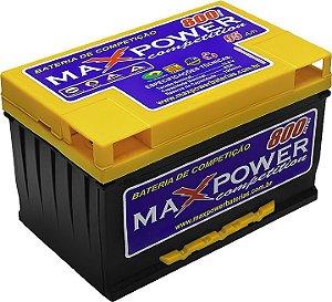 Bateria de Competição MAXPOWER 95ah SPL para som automotivo MP-800