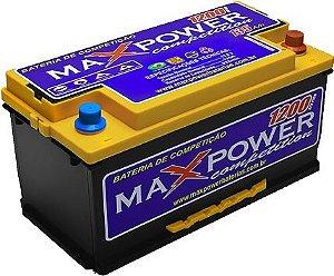 Bateria de Competição MAXPOWER 135ah SPL para som automotivo MP-1300